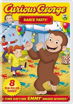 Curious George: Dance Party! [DVD]