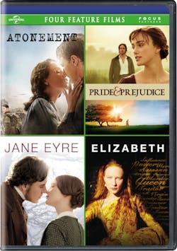 Atonement/Pride & Prejudice/Jane Eyre/Elizabeth (Box Set) [DVD]