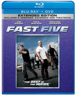 Fast & Furious 5 (Extended Edition) [Blu-ray]