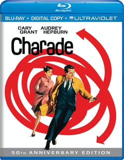 Charade (50th Anniversary Edition Digital + Ultraviolet) [Blu-ray]