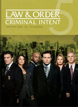 Law & Order - Criminal Intent: The Fifth Year [DVD]