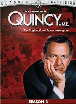 Quincy M.E: Season 3 [DVD]