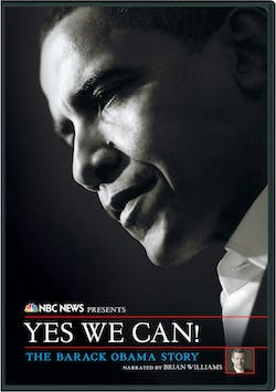NBC News Presents Yes We Can! The Barack Obama Story [DVD]