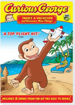 Curious George: Takes a Vacation and Discovers New Things! [DVD]
