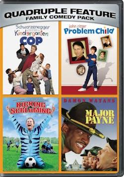 Kindergarten cop/Problem child/Kicking and screaming/Major Payne [DVD]