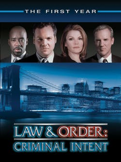 Law & Order - Criminal Intent: The First Year [DVD]