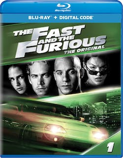 The Fast and the Furious (Digital) [Blu-ray]