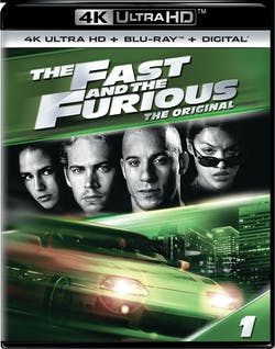 The Fast and the Furious (4K Ultra HD) [UHD]
