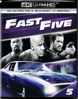 Fast & Furious 5 (4K Ultra HD) [UHD]