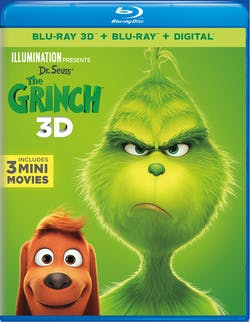 Illumination Presents: Dr. Seuss' The Grinch 3D (Digital) [Blu-ray]