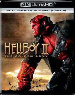 Hellboy 2 - The Golden Army (4K Ultra HD) [UHD]