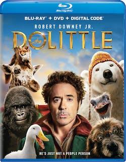 Dolittle (DVD + Digital) [Blu-ray]