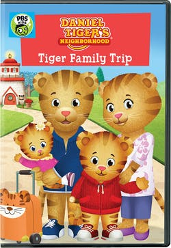 Daniel Tiger's Neighborhood: Tiger Family Trip [DVD]
