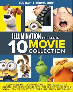 Illumination Presents: 10-Movie Collection [Blu-ray]