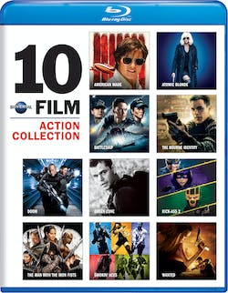 Universal 10-Film Action Collection [Blu-ray]
