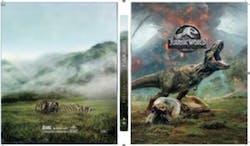 Jurassic World - Fallen Kingdom (Steelbook + DVD + Digital) [Blu-ray]