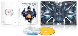 Pacific Rim - Uprising (Steelbook Limited Edition DVD + Digital) [Blu-ray]