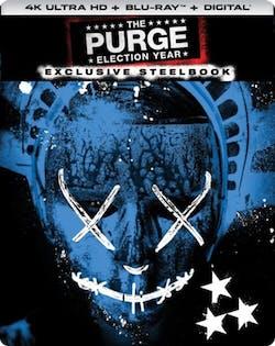 The Purge: Election Year (4K Ultra HD + Blu-ray (Steelbook)) [Blu-ray]