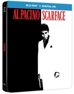 Scarface (1983) (Limited Edition Steelbook) [Blu-ray]