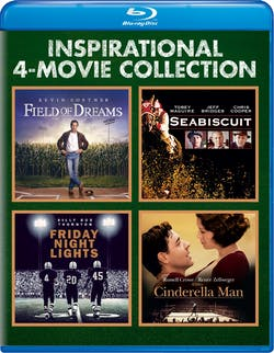 Inspirational 4-movie Collection (Field of Dreams/Seabiscuit/ [Blu-ray]