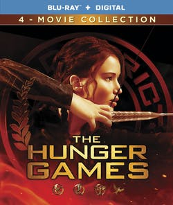 The Hunger Games: Complete 4-film Collection [Blu-ray]