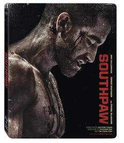 Southpaw (with DVD and Digital Download (Steelbook)) [Blu-ray]
