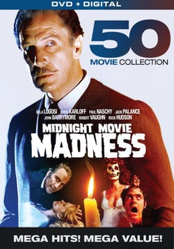 Midnight Movie Madness - 50 Movie Collection (Box Set) [DVD]