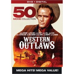Western Outlaws - 50 Movie Collection (Box Set) [DVD]