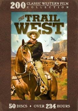 Trail West - 200 Classic Western Films [DVD]