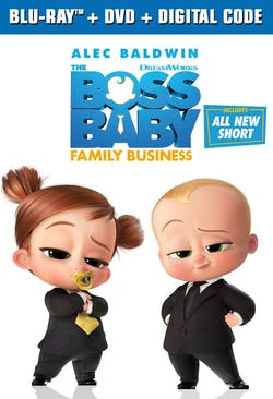 The Boss Baby: Family Business [Blu-ray]