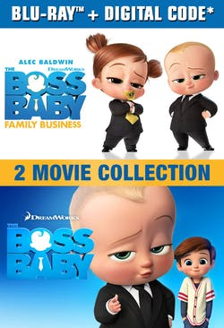 The Boss Baby 2-movie Collection [Blu-ray]