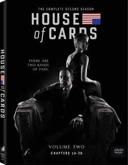 House of Cards: The Complete Second Season (Box Set) [DVD]