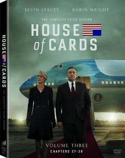 House of Cards: The Complete Third Season (Box Set) [DVD]