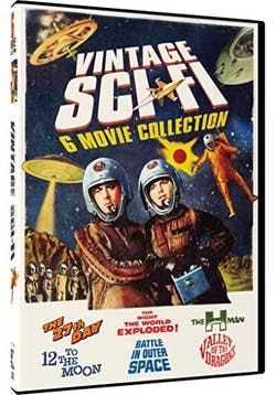Vintage Sci-Fi: 6 Movie Collection [DVD]
