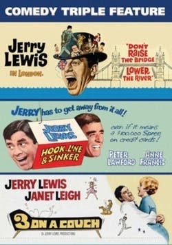 Jerry Lewis - Comedy Triple Feature [DVD]