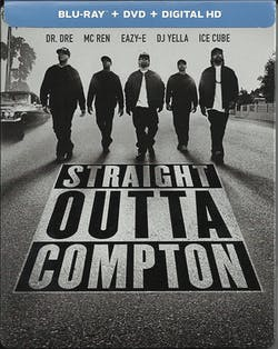 Straight Outta Compton (Limited Edition Steelbook) [Blu-ray]