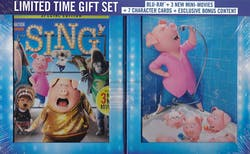 Sing (Limited Edition Gift Set) [Blu-ray]