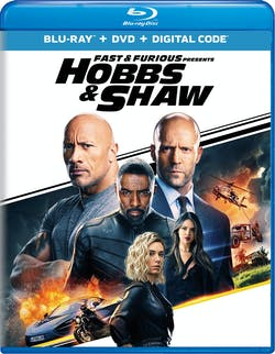 Fast & Furious Presents: Hobbs & Shaw (DVD + Digital) [Blu-ray]