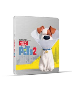 The Secret Life of Pets 2 (4K Ultra HD + Blu-ray (Steelbook)) [Blu-ray]