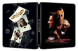 Casino (Steelbook 4K Ultra HD + Digital) [Blu-ray]
