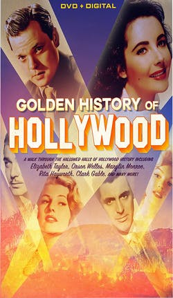 Golden History of Hollywood (DVD + Digital) [DVD]
