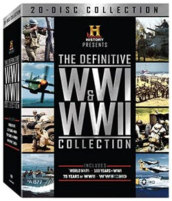 The Definitive WWI and WWII Collection (Box Set) [DVD]