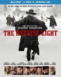 The Hateful Eight (with DVD and Digital Download) [Blu-ray]